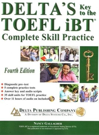 Deltas Key to the TOEFL iBT